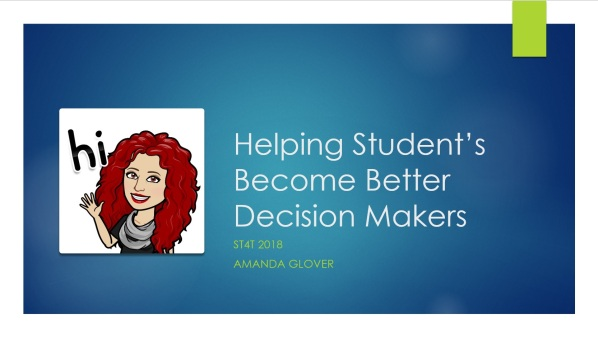 Help students become better decision makers